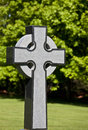 Stylized Celtic Cross Royalty Free Stock Photo