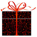 Stylized gift Royalty Free Stock Photo