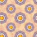 Stylized Japanese seamless pattern Royalty Free Stock Photography