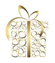 Stylized love present box Stock Photo