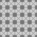 Stylized Grey Tiles Seamless Texture