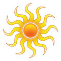 Stylized Sun Royalty Free Stock Photos