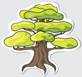 Stylized tree. Royalty Free Stock Photography