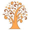 Stylized tree Royalty Free Stock Photo