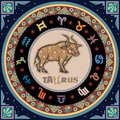Stylized zodiac sign signs illustrations series Royalty Free Stock Photography