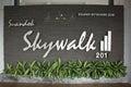 Suandok SkyWalk, Walk Way Between Suandok Park Parking Building