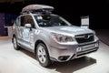 Subaru forester amsterdam april at the autorai Stock Photos