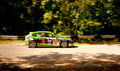 Subaru impreza rally car Royalty Free Stock Photography