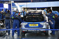 Subaru World Rally Team Garage Stock Photo