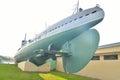 Submarine D-2 Narodovolets.