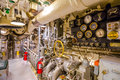 Submarine engine hall Royalty Free Stock Photo