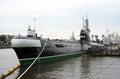 Submarine museum in Kaliningrad, Russia.