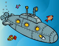 Submarine Underwater Royalty Free Stock Images