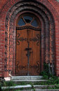 Subotica Synagogue doors Royalty Free Stock Photo