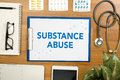 Substance Abuse Royalty Free Stock Photo