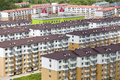 Substantial apartments the in summer of china Royalty Free Stock Image