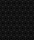 Subtle black ornament texture, oriental style
