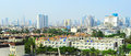 Suburb of bangkok panoramic view thailand Royalty Free Stock Photos