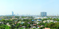 Suburb of bangkok in the sunshine day thailand Stock Photos