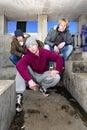 Suburban gang Royalty Free Stock Photo