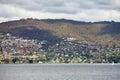 Suburban Hobart Tasmania Royalty Free Stock Photo