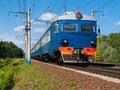 Suburban Train Royalty Free Stock Photo