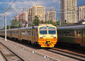 Suburban Train Royalty Free Stock Images