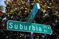 Suburbia Av Street Sign