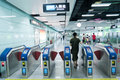 Subway APM line in guangzhou Royalty Free Stock Image