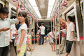 Subway APM line in guangzhou Royalty Free Stock Photo
