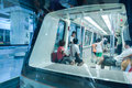 Subway APM line in guangzhou Royalty Free Stock Photography