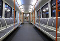 Subway Car Royalty Free Stock Photography