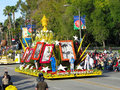 Subway Float in The Tournament of Roses Parade Royalty Free Stock Images