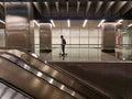 Subway underground rapid transport Royalty Free Stock Photo