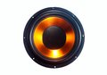 Subwoofer speaker Royalty Free Stock Photo