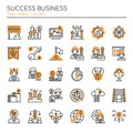 Success Business , Thin Line and Pixel Perfect Icons