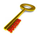 Success key Stock Image