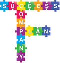 Success-Plan-Company Royalty Free Stock Images