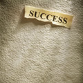 Success retirement Royalty Free Stock Image