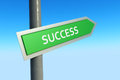 Success Sign Royalty Free Stock Photo
