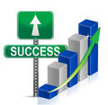 Success sign Business Royalty Free Stock Image