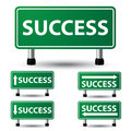 Success sign vector illustration of Royalty Free Stock Photo
