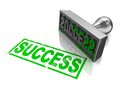 Success stamp Royalty Free Stock Image
