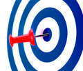 Success target best Royalty Free Stock Photo
