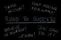 Úspěch trénink