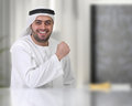 Successful arabian businessman / executive Stock Photos