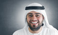 Successful arabian businessman smiling Royalty Free Stock Image
