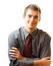 Successful business man Royalty Free Stock Photos