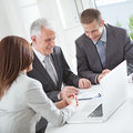 Successful business team at work Royalty Free Stock Photography