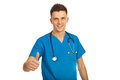 Successful doctor man Royalty Free Stock Photos